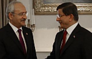 Davutoğlu ile Kılıçdaroğlu koalisyon için biraraya...