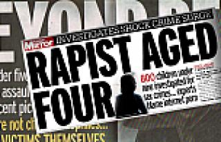 Dört yaşında tecavüz suçlusu polis kaydına girdi!