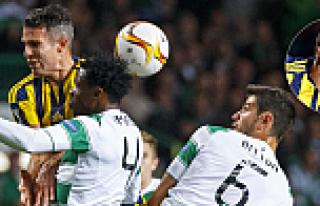 Fenerbahçe, Glasgow'da Celtik'i şaşırttı :2-2
