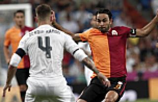 Galatasaray, Real Madrid'e 2-1 mağlup oldu