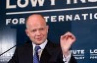 Hague: Türkiye ile Suriye rejimi üzerindeki baskıyı...