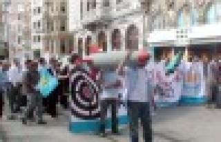 HAS Parti'den füze kalkanı protestosu