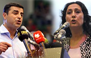 HDP'de, eş genel başkanlar Demirtaş ve Yüksekdağ