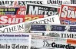 İngiltere medya gündemi