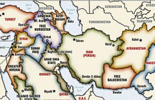 İşte Batı'nın Yeni Ortadoğu haritası!