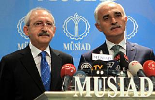 Kılıçdaroğlu ilk defa MÜSİAD'da