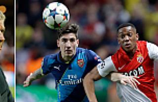 Maçı Arsenal kazandı, turu Monaco geçti