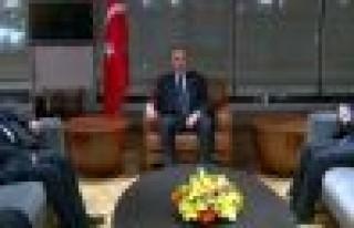 Salih El Mutlak, Başbakan Erdoğan'ı ziyaret etti