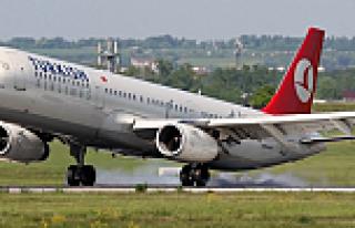 THY uçağı Viyana'ya acil iniş yaptı