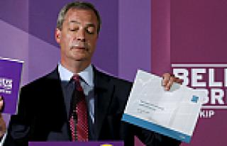 UKIP liderinin seçim vaadi: AB Referandumu ve göçmen...