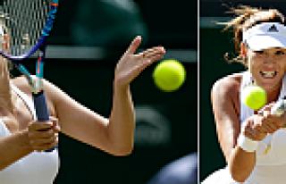 Wimbledon'da Sharapova ve Muguruza yarı finalde