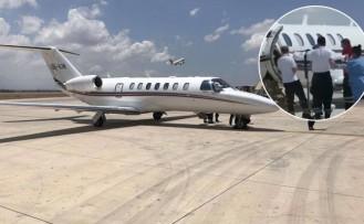 Çek Uçağı Ercan Havalimanı'na Direkt İndi
