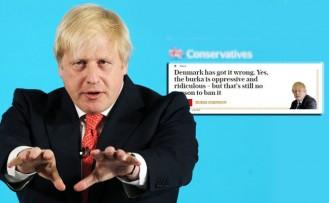 "Boris Johnson'a ""peçe"" incelemesi"