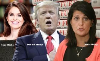 Trump'ın o kitaptaki ilişkisi kim?