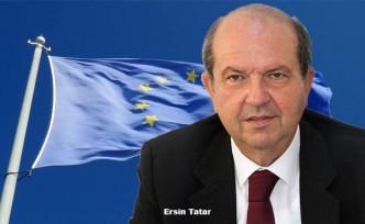 Ersin Tatar'dan Kıbrıs'ta AB Şemsiyeli Çözüm Önerisi