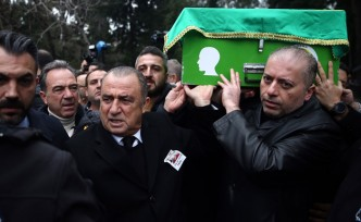 Fatih Terim'in babası son yolculuğuna uğurlandı