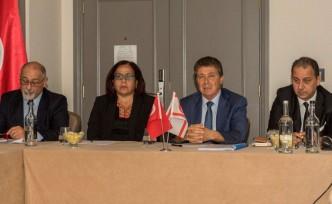KKTC Turizmi Londra'da Bakan Üstel'in katıldığı toplantıda konuşuldu