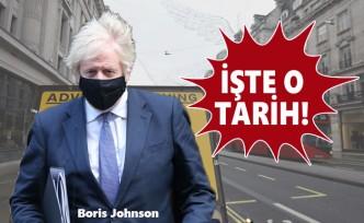 Johnson, Karantinanın Bitiş Tarihini Açıkladı
