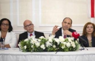 KKTC Başbakan Yardımcısı ve Dışişleri Bakanı Kudret Özersay'ın, Londra Konferansı