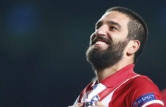 Arda Turan'ın Atletico Madrid görselleri