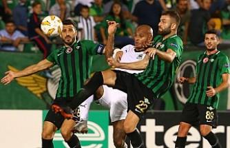 Akhisarspor, Krasnodar karşısında zayıf kaldı
