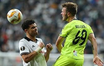 Beşiktaş, Sarpsborg'a fırsat tanımadı