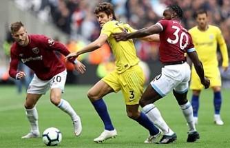 Chelsea, deplasmanda West Ham United ile 0-0 berabere kaldı