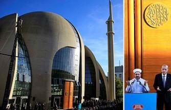 Erdoğan, Köln DİTİB Merkez Camisi'nin açılışını yaptı