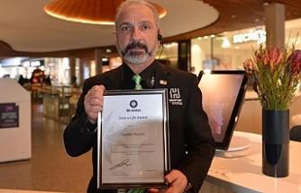 Avustralya'da Türk'e kahramanlık ödülü
