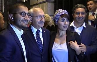 CHP Lideri Kemal Kılıçdaroğlu Londra'da