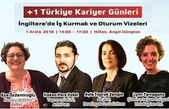İngiltere'de İş Kurma ve Oturum Vizeleri +1 Türkiye Kariyer Gününde