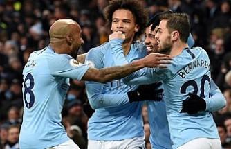 Manchester City sahasında kazandı