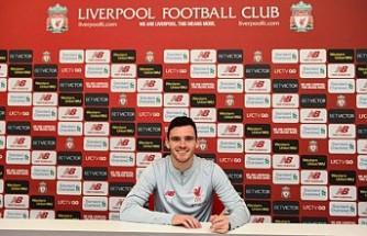 Liverpool, Andrew Robertson'ın Sözleşmesini Uzattı