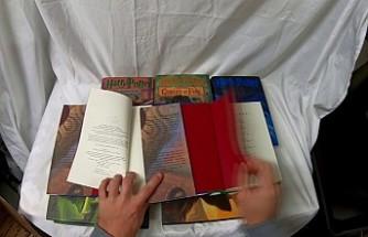 İngiltere'de mahkumlar Harry Potter kitabına uyuşturucu sakladı