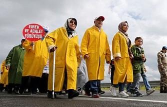 'Emek ve Adalet Yürüyüşü' 6. gününde