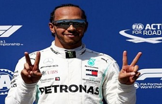 Hamilton Fransa'da kazandı