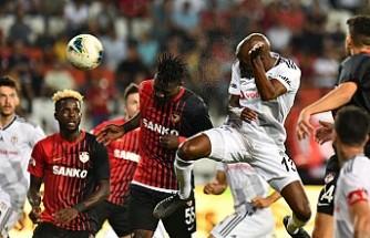 Gaziantep, Beşiktaş'a puan vermedi