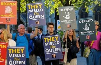 İngiltere'de parlamentoyu tatil kararı Yüksek Mahkeme'de