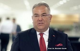 """Prof. Dr. Mustafa Gerek'e, Amerika'dan """"Başkanlık Onur Ödülü"""""""