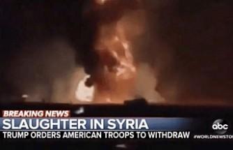 ABD kanalının 'Barış Pınarı' skandalına  Trump da tepki gösterdi