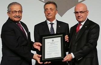 Beşiktaş'ta Ahmet Nur Çebi resmen göreve başladı