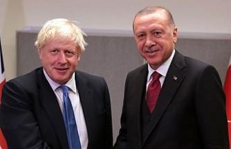 Cumhurbaşkanı Erdoğan, Başbakan Johnson ile görüştü