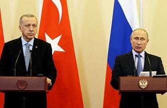 Erdoğan ve Putin Soçi Mutabakatı Birlikte Açıkladı