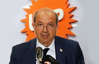 """KKTC Başbakanı Ersin Tatar'dan """"Akıncı Çekilsin"""" Açıklaması"""