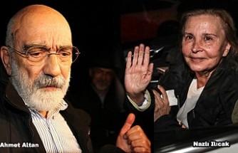 Ahmet Altan ve Nazlı Ilıcak tahliye edildi