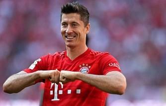 Lewandowski gözünü Müller'in rekorlarına dikti