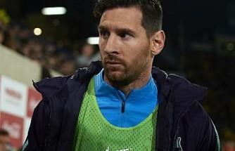 Messi kadro dışında kaldı