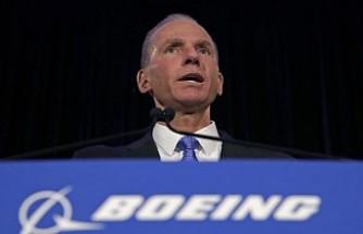 Boeing CEO'su Muilenburg'un 'istifa ettiği' duyuruldu
