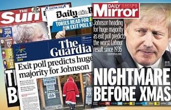 İngiliz Gazetelerinde Seçim Sonuçları