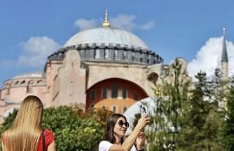 İstanbul'un turist sayısı son 5 yılın zirvesinde